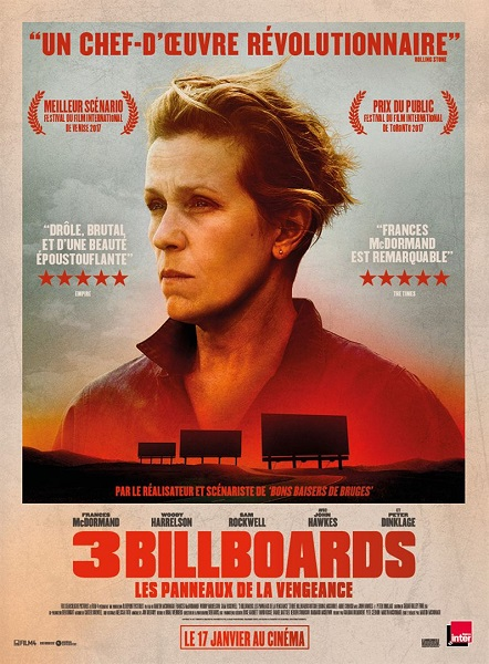 3 billboards (Vostfr) au cinéma du Foyer-Rural de St M. de L.